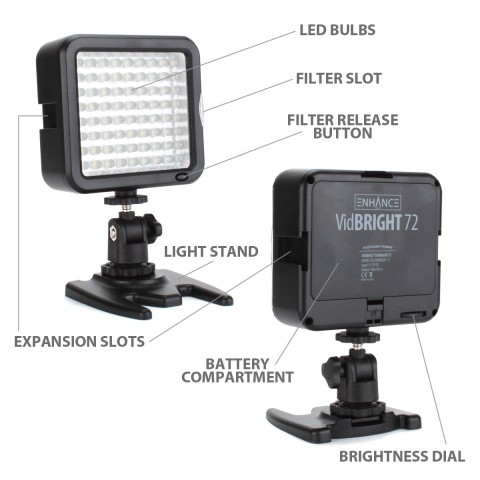 USA GEAR VidBRIGHT 72