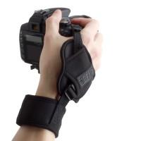 USA GEAR TrueSHOT Digital Film DSLR Camera Hand Grip Strap - Black