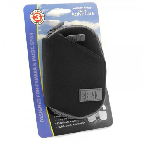 USA GEAR  FlexARMOR CP4 Durable Neoprene Material , Scratch Resistant Lining & Accessory Pockets - Black