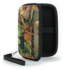 Hard Shell Electronics Case for Hard Drives, iPods, Portable Wi-Fi, Cables, etc. - Camo Woods